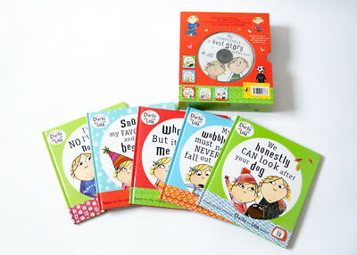 £13.90 • Buy Charlie And Lola – My Complete Best Story Collection (5 Books + CD)