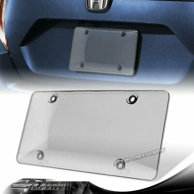$4.99 • Buy 1pcs Tinted Clear/Smoke Protector License Plate Frame Shield Cover Front & Rear