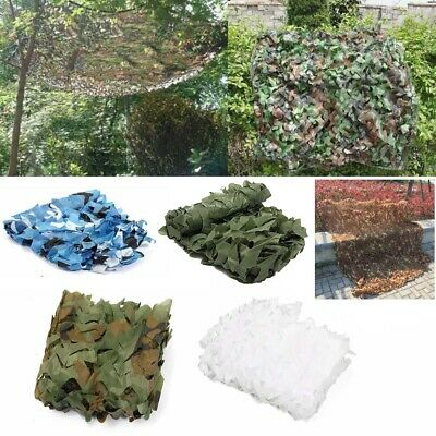 $17.65 • Buy 2x4M Hunting Camping Military Camouflage Net Woodland Camo Netting Hide Cover