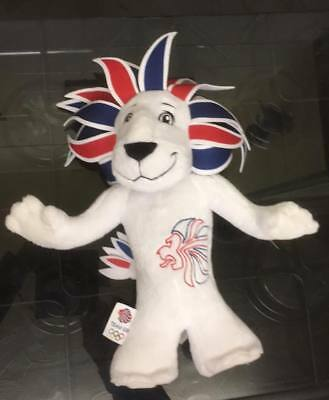 Pride The Lion 2012 Olympic Games Mascot Plush Toy Soft Toy • 6£