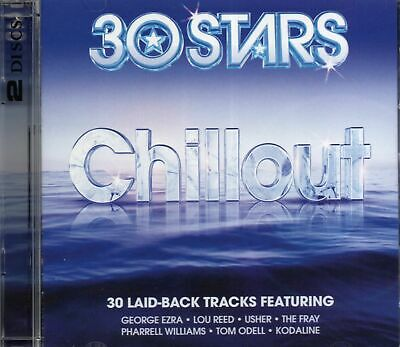 $3.43 • Buy 30 Stars Chillout 2CD George Ezra Pharrell Williams Lou Reed Jeff Buckley Gift