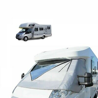 £93.99 • Buy Motorhome External Thermal Cab Screen Ford Transit 2006 - 2014 Windscreen Cover