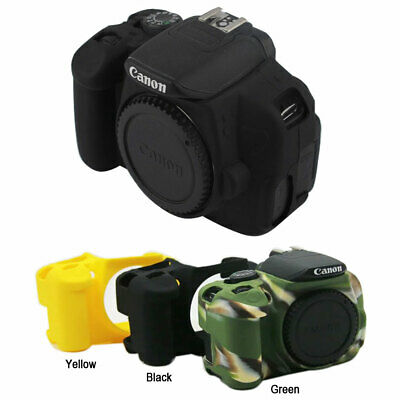 Camera Soft Silicone Skin Case Bag For Canon Eos 700D 650D Rebel T5i T4i • 8.18£