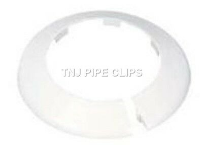 Toilet Soil Pipe Cover - Collar - 110mm White • 3.75£