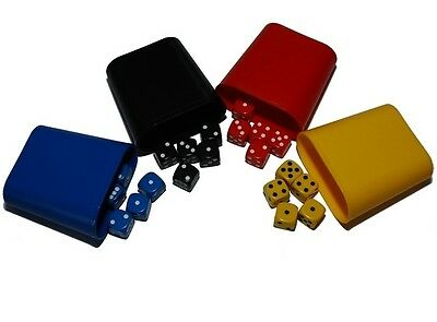 £4.95 • Buy Mixed Dice Set With 4 Shakers, (six Sided), 16mm , D6