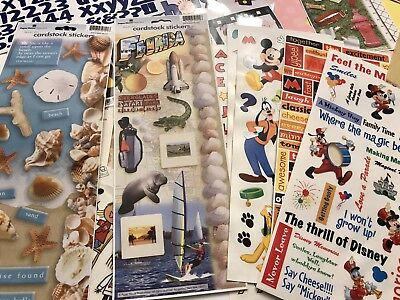 $9.99 • Buy Assorted Scrapbook Kit  12x12 Papers, Stickers, And Embellishments CLEARANCE