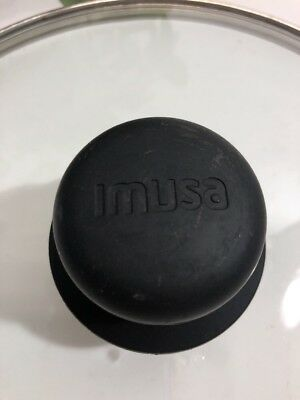$15.99 • Buy Imusa 9 3/4  - 9 1/4  Glass Pot/Pan Lid With Black Handle, Vent