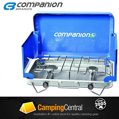 AU85.95 • Buy Companion Ranger 2 Burner Stove Cooker Gas Bbq Camping Comp203