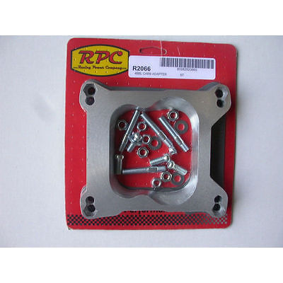 $ CDN28.98 • Buy RPC R2066 Carburetor Adapter Holley/AFB 4-bbl To Q-Jet Base  Studs & Gaskets