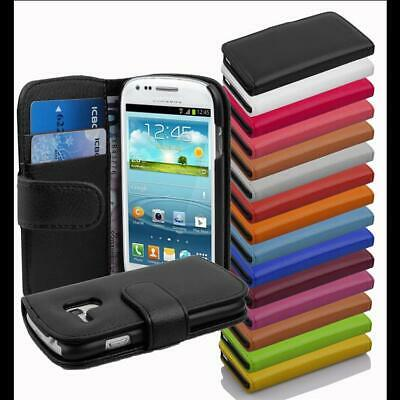 AU15.99 • Buy Case For Samsung Galaxy Wallet Cover 2 Card Pockets Flip Etui Book Style