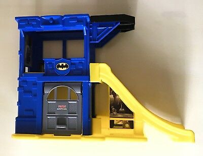 Fisher Price Little People Bat Cave DC Comics Batman Car Ramp Hard To Find Toy! • 48.46£