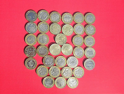 Wide Selection Of Circulated £2 (two Pounds) Coins- Great British Coin Hunt • 4.50£