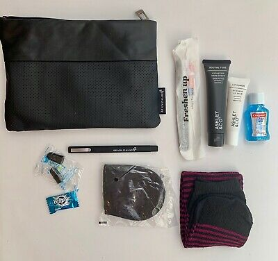 AU58.99 • Buy Air New Zealand First Class Airline Travel Dopp Kit Pouch With Accessories