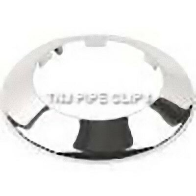Toilet Soil Pipe Cover - Collar - 110mm Chrome • 5.25£