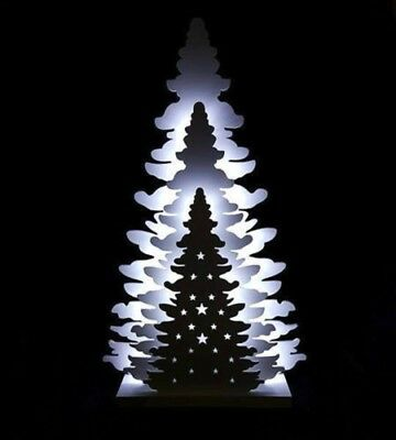 3 Layer Table Top Tree With LED Lights Christmas Tree For Home Decoration 36cm • 15.99£