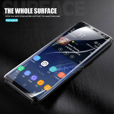 $ CDN4.95 • Buy For Samsung GalaxyS7 S8 Full Cover Hydrogel TPU Screen Protector Soft Film Cover