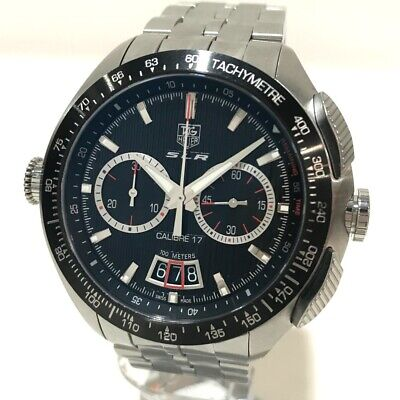 £1871.88 • Buy TAG HEUER CAG2010 Mercedes-Benz SLR Caliber 17 Wristwatch SS Silver