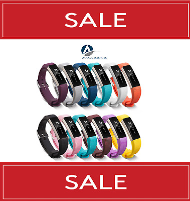 AU11.99 • Buy For Fitbit Alta HR Fitness Tracker Replacement Wristband Strap Band *Sale*