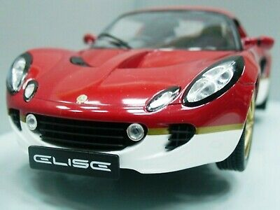 $ CDN225.85 • Buy WOW EXTREMELY RARE Lotus Elise S2 Type 49 RHD Gold Leaf Red 1:18 Revell-Auto Art