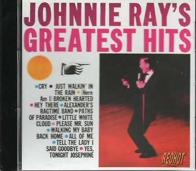 Johnnie Ray Best Of - Greatest Hits (1992 CD) New Gift Idea  • 2.94£