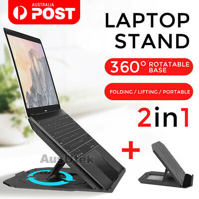 AU29.99 • Buy Laptop Stand Portable IPad Holder Folding Adjustable Notebook Cooling Ergonomic