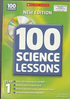 100 Science Lessons For Year 1 (100 Science Lessons) (100 Science Lessons) Carol • 7.75£