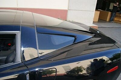 $590 • Buy Chevrolet Corvette C6 Window Rails V2 By CSC / Vette Z06 ZR1 GS 2005-2013 05-13