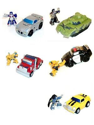TRANSFORMERS Robot Heroes 2.5  Figure & Vehicle Toy Sets GREAT FOR YOUNG KIDS • 15.99£