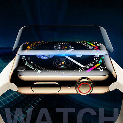 $ CDN4.36 • Buy 3D UV Liquid Curved Full Glue Tempered Glass Film For Apple Watch Series 1/2/3/4