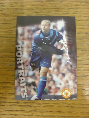 1997 Trade Card: Manchester United - Peter Schmeichel Player Portraits Base Card • 2.99£