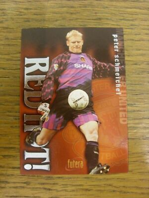 1997 Trade Card: Manchester United - Peter Schmeichel Red Hot! Silver Foil Card • 3.99£