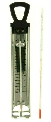 £4.99 • Buy Chocolate Tempering Thermometer And Candy Thermometer Twin Pack