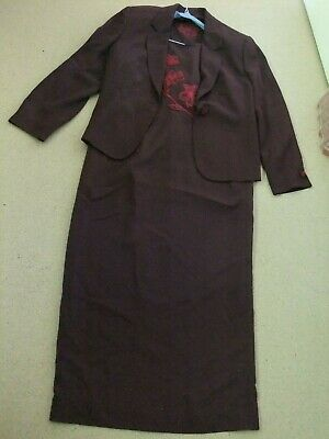 Country Casuals Dress And Jacket 2 Piece Set Uk Size 16 • 11£