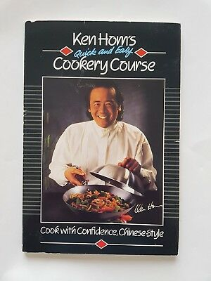 Ken Hom's Quick And Easy Cookery Course (paperback) • 1.99£