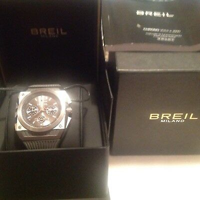 Gents Watch By Breil Of Milano As New • 50£