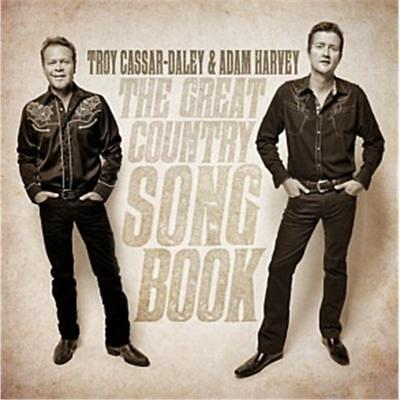 AU14.88 • Buy Troy Cassar-Daley & Adam Harvey The Great Country Song Book CD NEW