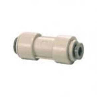 1/4  Water Filter Pipe Fridge RO Straight Connector • 1.99£