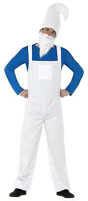 Mens GARDEN GNOME COSTUME Adult Size-  Fancy Dress BRAND NEW & SEALED ,, • 10£