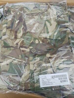 £14.99 • Buy British Army Barrack Shirt MTP New In Packet 170/104