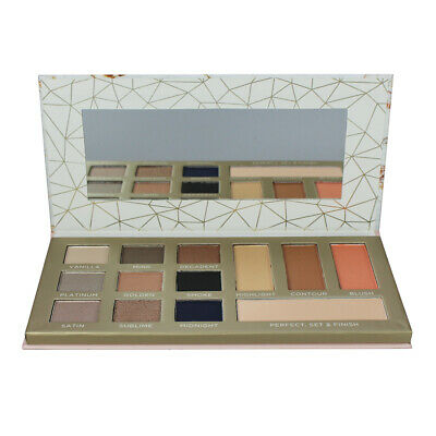 Body Collection Complete Face Palette Nudes - Shimmer Matte Eye Shadow Contour • 5.99£