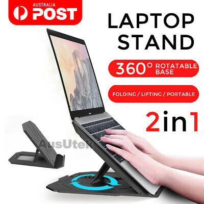 AU32.99 • Buy Portable Foldable Adjustable Laptop Notebook Stand Desk Table Tray Home Office