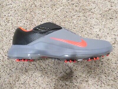 purchase cheap 9981a c83f9 Mens Nike Golf TW  17 Grey Black Solar Red Cleats 880955-003