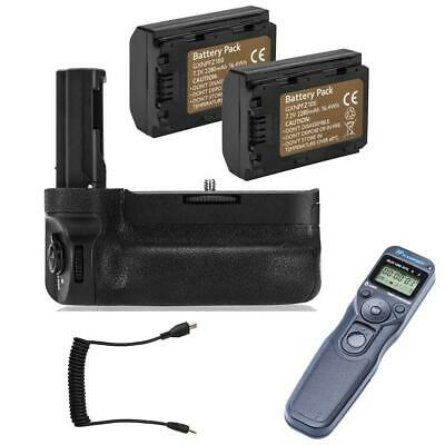 $ CDN201.99 • Buy Green Extrem VG-C3EM Battery Grip For A7 III With 2 NP-FZ100 + Camera Remote