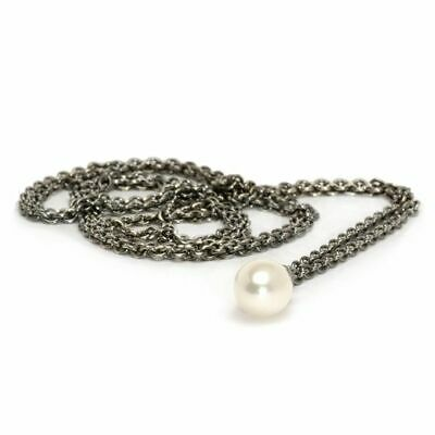 $90 • Buy Trollbeads Fantasy Pearl Necklace 23.6  New