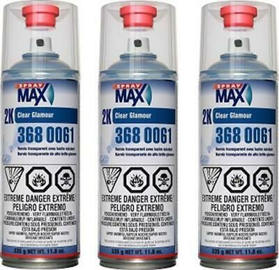$ CDN82.39 • Buy 3 Cans Of Usc Spraymax 3680061 2k Clearcoat (usc-3680061)