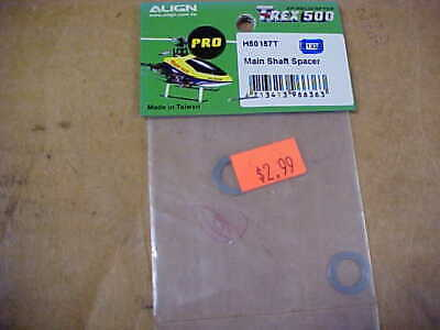 £3.62 • Buy Align Helicopter Part - H50157t = Main Shaft Spacer : Trex 500 Pro (new)