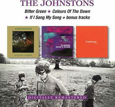 The Johnstons - Bitter Green/Colours Of The Dawn/If I Sang My Song (2CD)  NEW • 8.95£