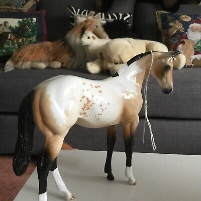 Peter Stone Horse Model Foal Dun Appaloosa • 190£