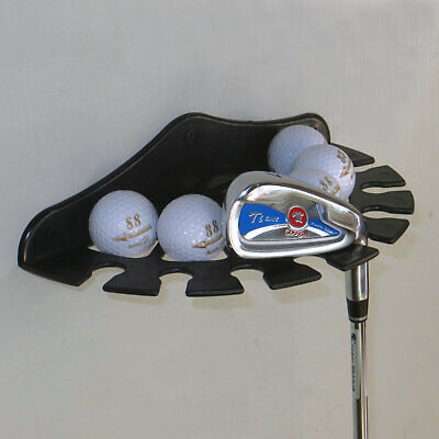 Golf Ball Multifunction Wall Display Rack And Golf Club /Wall Mount Bracket • 9.49£