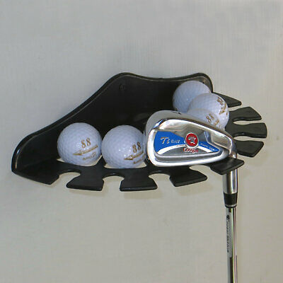 Golf Ball Multifunction Wall Display Rack And Golf Club /Wall Mount Bracket • 9.97£